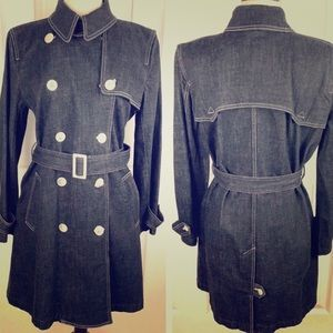 Ralph Lauren women's double breasted trench large
